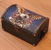 Для дома и интерьера handmade. Livemaster - original item Box box
