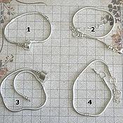 Материалы для творчества ручной работы. Ярмарка Мастеров - ручная работа основа для браслета  в стиле пандора. Handmade.
