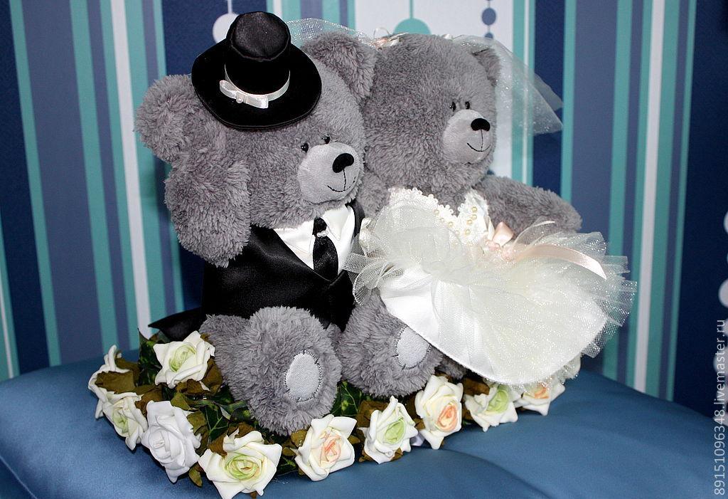 Свадебные мишки милена и мишель см 121