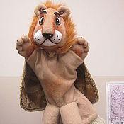 Куклы и игрушки handmade. Livemaster - original item Leo. Fabulous.Glove puppets.. Handmade.