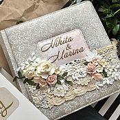Свадебный салон ручной работы. Ярмарка Мастеров - ручная работа Свадебный альбом на 200 фотографий. Handmade.