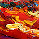 """Картины цветов ручной работы. Картина маки """"Яркие, как Само Солнце"""" масло, холст. ЯРКИЕ КАРТИНЫ Наталии Ширяевой. Интернет-магазин Ярмарка Мастеров."""