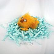 Куклы и игрушки ручной работы. Ярмарка Мастеров - ручная работа Акция -50% Цыпленок Кроха валяный из шерсти. Handmade.