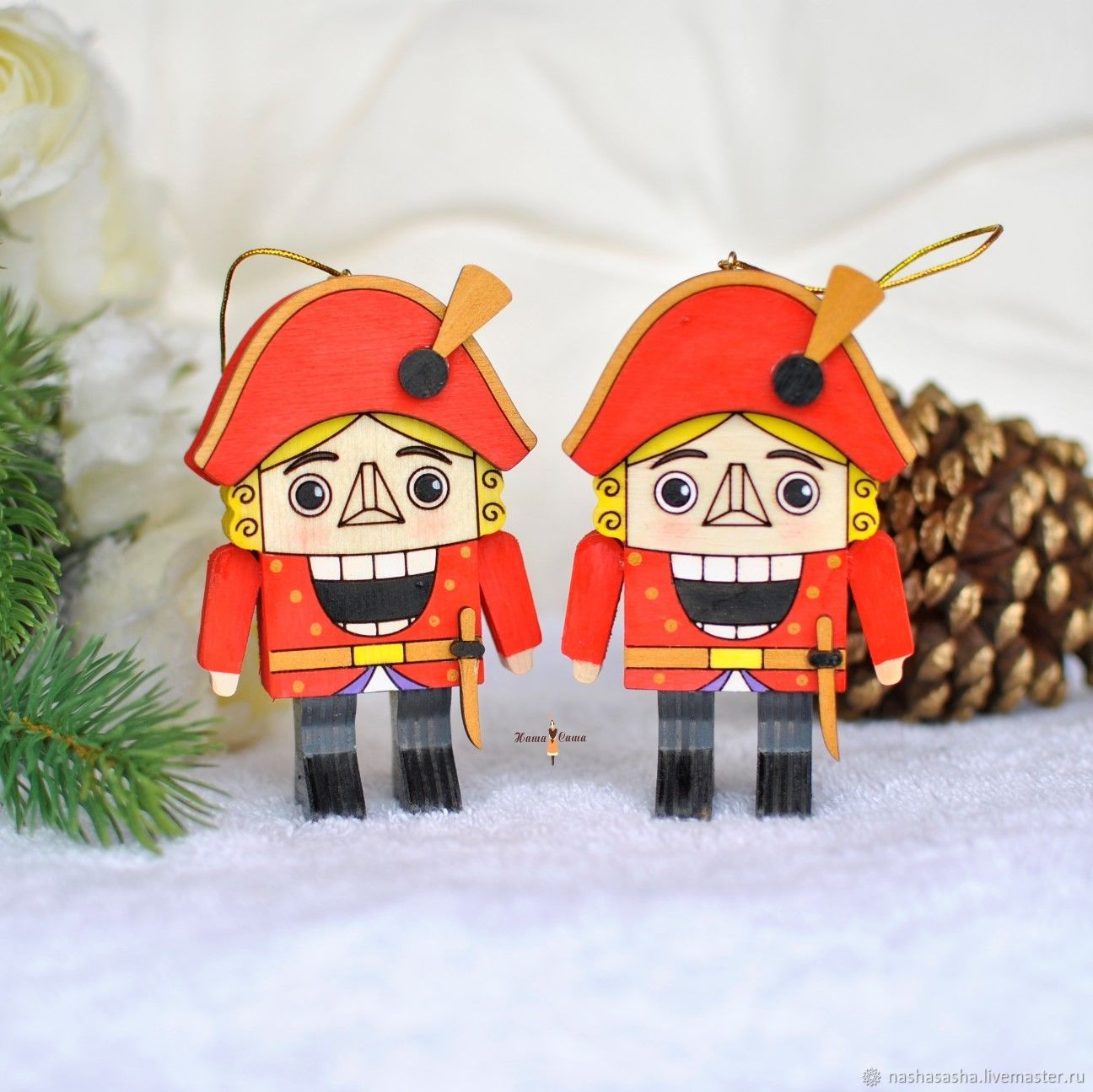 Christmas toy, the Nutcracker 10cm, Christmas decorations, Moscow,  Фото №1