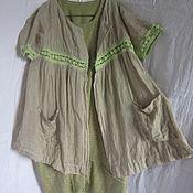 Одежда ручной работы. Ярмарка Мастеров - ручная работа одежда платье и и блуза разлетайка большой размер. Handmade.