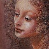 """Картины и панно ручной работы. Ярмарка Мастеров - ручная работа картина пастелью""""Ангельские лики""""1. Handmade."""