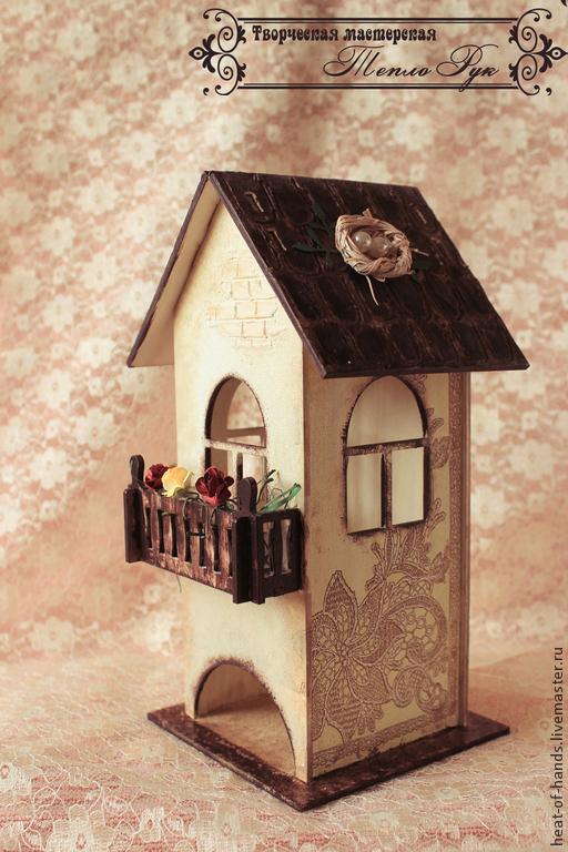 Кухня ручной работы. Ярмарка Мастеров - ручная работа. Купить Уютный чайный домик. Handmade. Разноцветный, подарок подруге