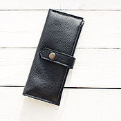 Сумки и аксессуары handmade. Livemaster - original item Leather wallet. Handmade.