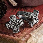 Украшения handmade. Livemaster - original item Ring Celtic eternal knot. The endless knot. bronze silver.. Handmade.