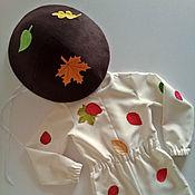 Одежда handmade. Livemaster - original item Costume White Mushroom boletus hat for baby boy girl autumn. Handmade.