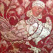 Картины и панно ручной работы. Ярмарка Мастеров - ручная работа Птица Гамаюн. Handmade.