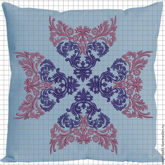 Текстиль, ковры ручной работы. Ярмарка Мастеров - ручная работа. Купить Подушка. Handmade. Декоративная подушка, вышитая подушка