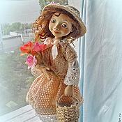 """Куклы и игрушки ручной работы. Ярмарка Мастеров - ручная работа Авторская кукла """" Каникулы в Провансе"""". Handmade."""