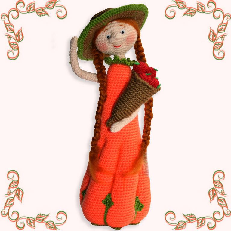 Knitted interior doll garden fairies, Stuffed Toys, Cherdyn,  Фото №1