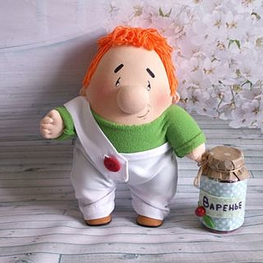 Куклы и игрушки ручной работы. Ярмарка Мастеров - ручная работа Карлсон. Handmade.