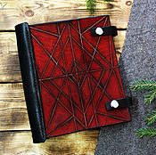 Канцелярские товары handmade. Livemaster - original item Notepad red. Handmade.