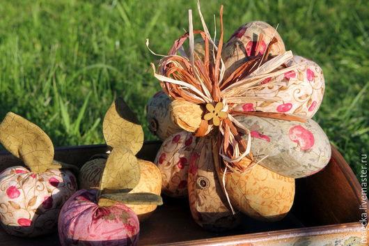 Комплекты аксессуаров ручной работы. Ярмарка Мастеров - ручная работа. Купить Текстильная тыква яблочная. Handmade. Тыква винтаж
