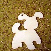 Материалы для творчества ручной работы. Ярмарка Мастеров - ручная работа Собачка-подвеска. Handmade.