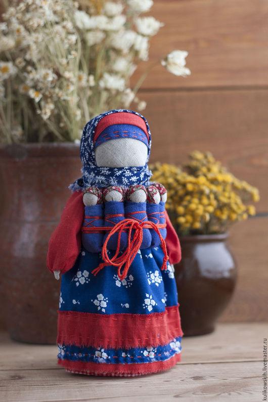 Народные куклы ручной работы. Ярмарка Мастеров - ручная работа. Купить Кукла народная Семья  Нарядная резерв. Handmade. семья