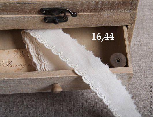 Шитье ручной работы. Ярмарка Мастеров - ручная работа. Купить Кружевное шитьё. Хлопок 100%. Артикул 16,44. Handmade.