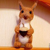 """Куклы и игрушки ручной работы. Ярмарка Мастеров - ручная работа Белочка с """"тайной"""". Handmade."""