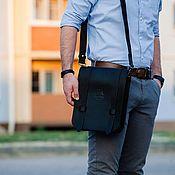 Сумки и аксессуары handmade. Livemaster - original item Mens leather bag - tablet LAHORE. Handmade.