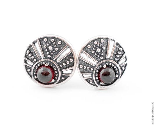 серебряные серьги, серьги из серебра, серебро, серьги с камнями, украшения из серебра, подарок женщине, подарок, ручная работа