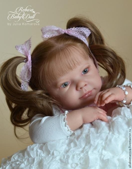 Куклы-младенцы и reborn ручной работы. Ярмарка Мастеров - ручная работа. Купить Камилла. Handmade. Бежевый, винил