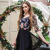 Платья ручной работы. Ярмарка Мастеров - ручная работа Вечернее платье Freya. Handmade.