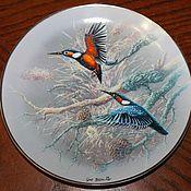 Винтаж handmade. Livemaster - original item Rare Birds of the world plate series, Gerhard Bluhm, Rosenthal. Handmade.