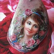 """Подвеска ручной работы. Ярмарка Мастеров - ручная работа """"Розовая мечта""""кулон. Handmade."""