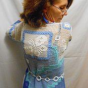 Одежда handmade. Livemaster - original item Tunic Summer night. Handmade.