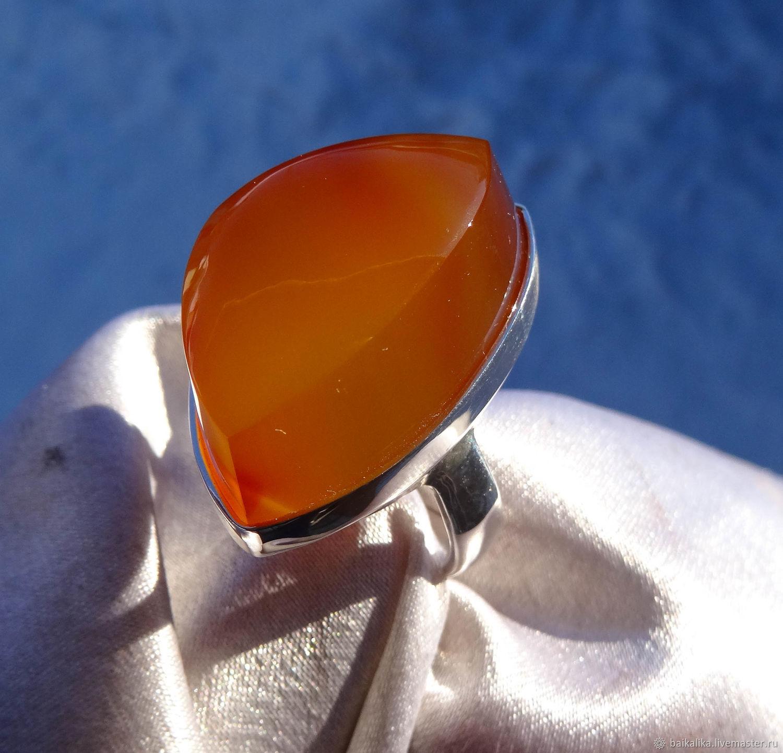 Vitim ( Ring with Carnelian), Rings, Irkutsk,  Фото №1