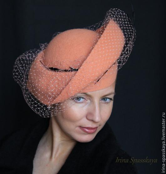 """Шляпы ручной работы. Ярмарка Мастеров - ручная работа. Купить Шляпка """"Рersona grata"""" из коллекции """"Скромное обаяние буржуазии"""". Handmade."""
