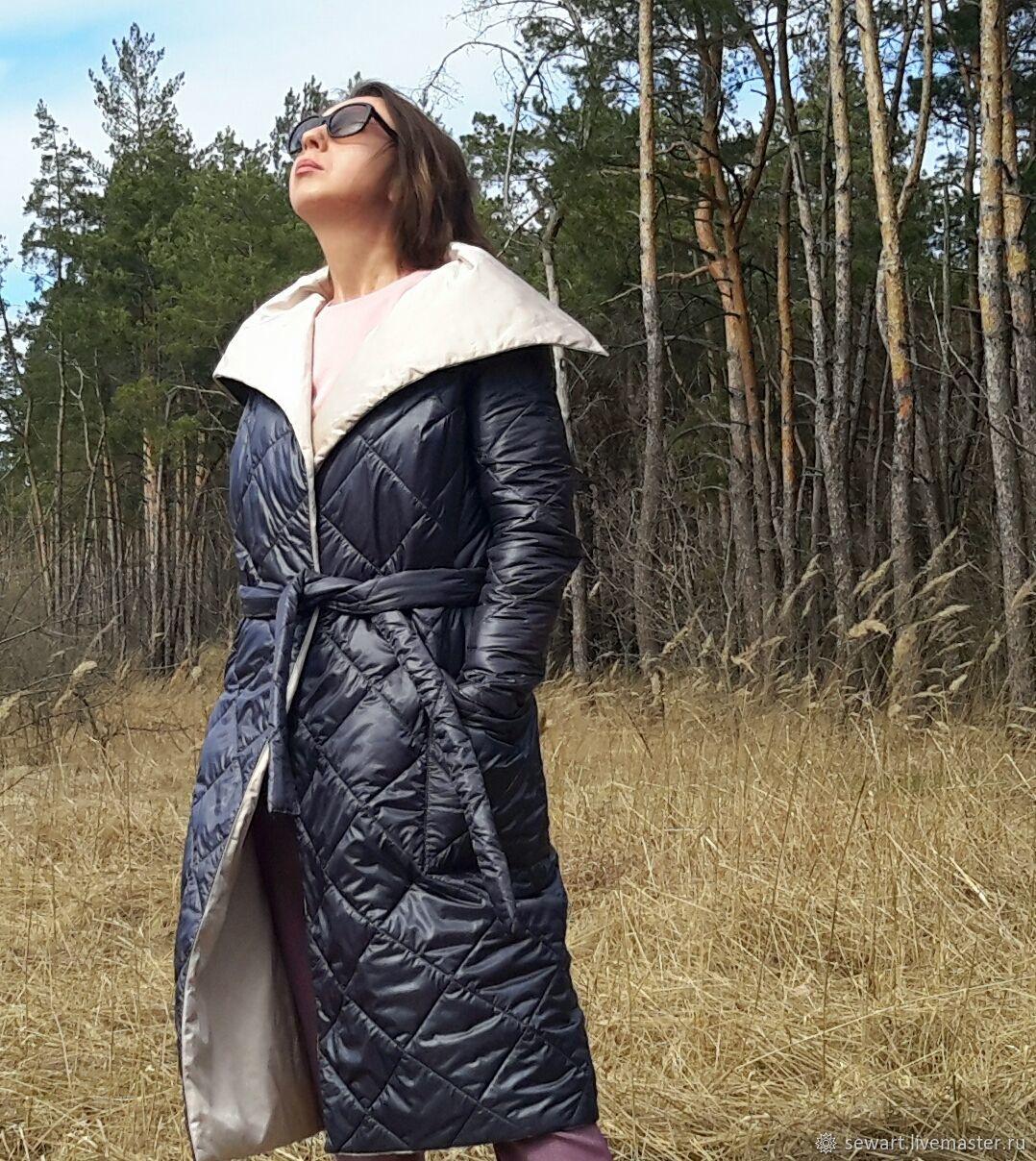 Купить стеганную ткань для пальто что за материал полиамид в нижнем белье