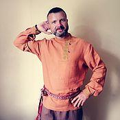 Русский стиль handmade. Livemaster - original item Blouse. Handmade.
