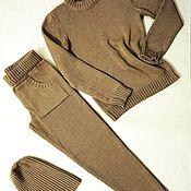 Одежда ручной работы. Ярмарка Мастеров - ручная работа Кашемировый костюм. Handmade.