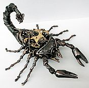 Для дома и интерьера ручной работы. Ярмарка Мастеров - ручная работа Стимпанк скорпион. Handmade.