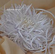 Свадебный салон ручной работы. Ярмарка Мастеров - ручная работа Хризантема Свадебная. Handmade.