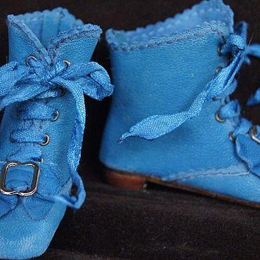"""Куклы и игрушки ручной работы. Ярмарка Мастеров - ручная работа Обувь для Антикварной и современной куклы """"Pony"""". Handmade."""