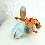 Куклы и пупсы ручной работы. Ярмарка Мастеров - ручная работа Марионетка «Лисичка». Handmade.