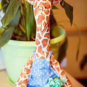 Куклы и игрушки ручной работы. Ярмарка Мастеров - ручная работа Жирафик Мелман. Handmade.