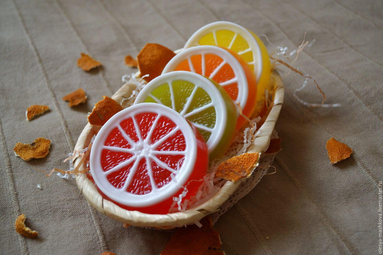 Мыло из лимона своими руками 165