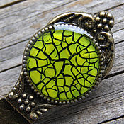 handmade. Livemaster - original item Bookmark Gossamer light green color Chartreuse. Handmade.