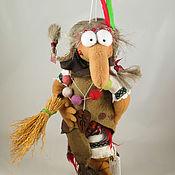 """Куклы и игрушки ручной работы. Ярмарка Мастеров - ручная работа Баба-Яга """"Вождь красноперых"""". Handmade."""