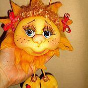 Куклы и игрушки ручной работы. Ярмарка Мастеров - ручная работа Солнышко в руках)). Handmade.