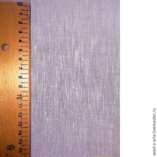Валяние ручной работы. Ярмарка Мастеров - ручная работа. Купить Разреженная льняная марля для валяния, ширина - 150 см, белая. Handmade.