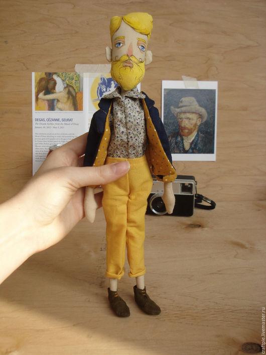 Коллекционные куклы ручной работы. Ярмарка Мастеров - ручная работа. Купить Светловолосый парень. Handmade. Желтый, парень, настоящий мужчина