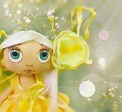 """Куклы и игрушки ручной работы. Ярмарка Мастеров - ручная работа Кукла текстильная """"Лимонница"""". Handmade."""