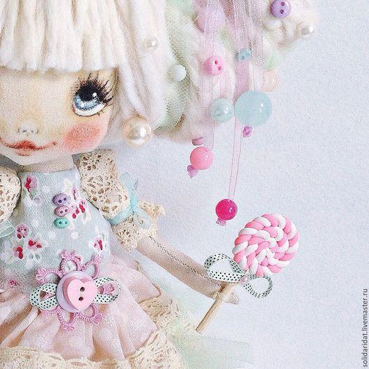 Ароматизированные куклы ручной работы. Ярмарка Мастеров - ручная работа. Купить Карамелька. Handmade. Коллекционная кукла, текстильная кукла